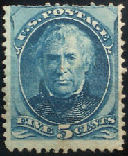 U.S. Scott # 179 unused Ng, F, 5c blue Taylor