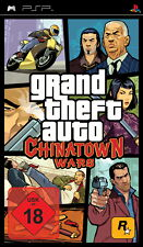 SONY PSP NEU/OVP  Grand Theft Auto: Chinatown Wars* AB 18! ERSTAUFLAGE*