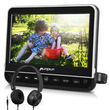 "10.1"" HD Auto TV Kopfstütze DVD CD Player Monitor HDMI USB/SD mit Frei Kopfhörer"