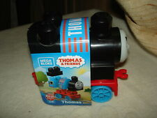 MEGA BLOKS 5 pc FIRST BUILDING TOY:THOMAS & FRIENDS: THOMAS CHARACTER: AGES 1+