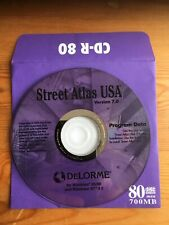 Street Atlas USA Version 7.0 - CD-ROM, DeLorme, Windows 95/98 & Windows NT 4.0