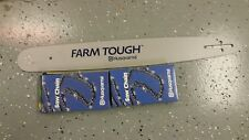 "Husqvarna 1-20"" Bar 2 chains 455&460 Ranchers,460 & 555 others 3/8"" .050 72 link"