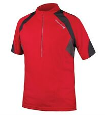 MAILLOT ENDURA HUMMVEE II S/s JERSEY couleur rouge taille L