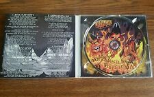 Nekromantix signed CD What Heppens In Hell Stays in hell