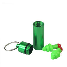 Tourbon Green Ear Plugs Hearing Defender Noise Reduction With Green Carry Case