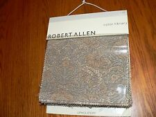 """Robert Allen Color Library """"Platinum"""" Upholstery Sample Swatch Fabric Book #6353"""