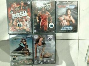 lot de 5 DVD Catch américain