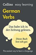 Easy Learning German Verbs (Collins Easy Learning German) by Collins Dictionarie