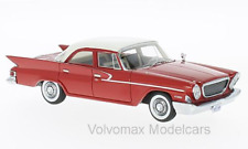 wonderful modelcar CHRYSLER NEWPORT SEDAN 1961 - red / white -  1/43 - lim.500