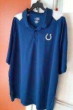 Nfl Indianapolis Colts Football Golf Polo Shirt 3Xl Xxxl Big .Nice!