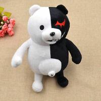 Dangan Ronpa Mono Kuma Monokuma White&Black Bear Doll Toy Soft Plush