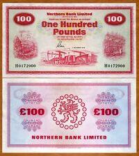 Ireland Northern Bank 100 pounds, 1978, P-192d, aUNC > Rare