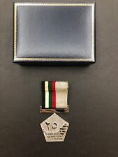 Original Military Medal  UAE Armed Forces Unification 25th silver Jubilee