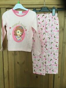 New With Tags Girls Pyjamas , Age 4 Years , Pink , Disney Sofia The First .