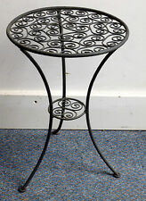 Authentic Handmade Moroccan Metal Fretwork Table