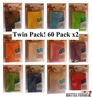 120 Pack Ultra Pro Card Sleeves - Deck Protectors Small Size 13 Colours Yu Gi Oh