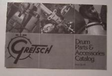 Gretsch American Snare, Bass, Tom Drum Vintage Parts Catalog Techware