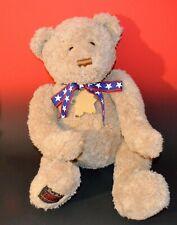 "Big 18"" GUND 2002 WISH TEDDY BEAR 100th Anniversary PLUSH STUFFED Patriotic"