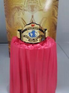 Mattel Elite Macho Man Ricky Steamboat  WWE WWF Custom Intercontinental Title