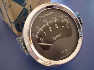 Mercedes Benz vintage truck oil pressure gauge manometer 0015426302 OEM NOS