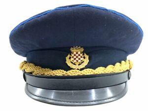 Croatian Croatia Police Cap Hat Size 56