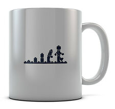 Lego Evolution Mug Cup Present Gift Coffee Birthday
