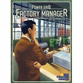 Power Grid Factory Manager Board Game