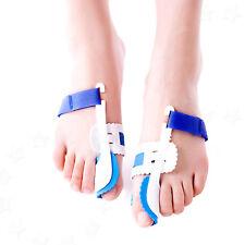 2X Bunion Splint Corrector Hallux Valgus Straightener Toe Separator Pain Relief