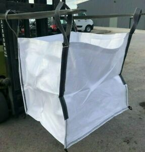 Tonne Bags FIBC Ton Bulk Builders Bag Garden Rubble Sack BRAND NEW x 10