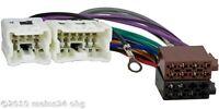 Radio Adapter Kabel NISSAN Almera X-Trail Anschlußkabel ISO Kabelbaum Kabel