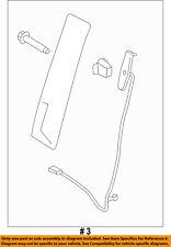 FORD OEM 15-18 F-150 Front Door-Applique Window Trim Right FL3Z1520554BB