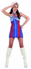 SWEET SAILOR OUTFIT COSTUME WOMANS GIRLS LADY FANCY DRESS SHIP SEA CAPTAIN