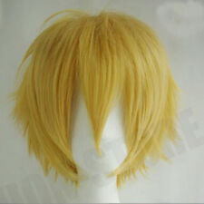 Women Men Anime Cosplay Full Wig Short Poxie Cut Synthetic Hair Party Costume oe