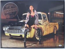 Tera Patrick Signed Authentic Lucky-13 Sexy 18x24 Poster PSA/DNA #AC18245