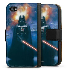 Apple iPhone 4 Tasche Hülle Flip Case - The power of the dark side