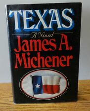 """1985 """"Texas"""" A Novel written by James A. Michener Book 1st Edition 1st Printing"""