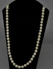 COLLIER DE PERLES DE CULTURE CHOKER FERMOIR OR