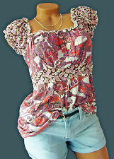 Top Babydoll Shirt Tunika Hängerchen Gr. 40/42 PAISLEY 942600