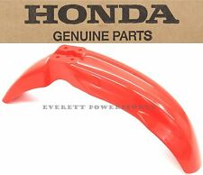 Genuine Honda Front Fender 00-07 XR650 R OEM Fighting Red Plastic Mud Guard #F45