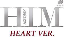 History - Him (5th Mini Album) Heart Ver [New CD] Asia - Import