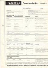 Grundig riparazione aiutante Elite-Boy 210 service manual istruzioni b1276