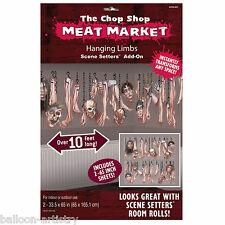 Halloween Chop SHOP mercato della carne SCENA SETTER Add-On KIT appendere ARTI