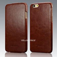 For Apple iPhone 6 6S Plus Vintage Handmade Leather Case Flip Hard Cover Skin