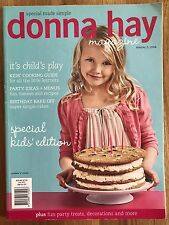 Donna Hay Kids Issue Magazine Annual 5, 2008 Special Made Simple