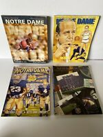 Vintage Notre Dame Football Programs All Years Lot Of (8)