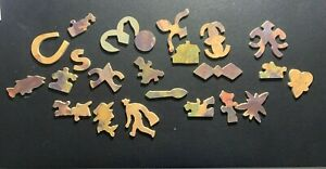 """1932 Pastime Picture Wooden Puzzle """"Clovelly"""" by Parker Brothers over 350 pcs"""