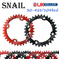 30-42t 104bcd MTB Road BMX Bike Narrow Wide Single Chainring Chainset Sprockets