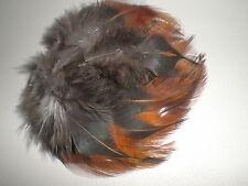 lot de 20 plumes coq pelle 5 a 8 cm