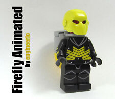 LEGO Custom - Firefly Animated - DC Super heroes mini figure Batman