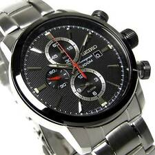 Seiko Men's Chronograph Watch SNAF47P1 Warranty, Box, RRP: £250